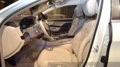 Mercedes Maybach S600 Pullman front seats at IAA 2015