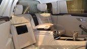 Mercedes Maybach S600 Pullman guest seats vis a vis at IAA 2015