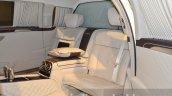 Mercedes Maybach S600 Pullman interior at IAA 2015