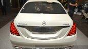 Mercedes Maybach S600 Pullman rear at IAA 2015