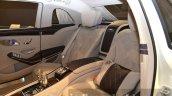Mercedes Maybach S600 Pullman seats at IAA 2015