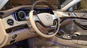 Mercedes Maybach S600 Pullman steering wheel at IAA 2015