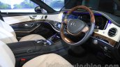 Mercedes-Maybach S600 dashboard India launch