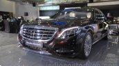 Mercedes-Maybach S600 front quarter India launch