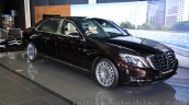 Mercedes-Maybach S600 front quarters India launch