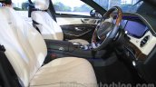 Mercedes-Maybach S600 front seats India launch