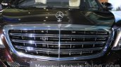 Mercedes-Maybach S600 grille India launch