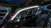 Mercedes-Maybach S600 headlight India launch