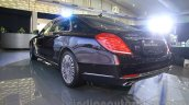 Mercedes-Maybach S600 rear quarter India launch