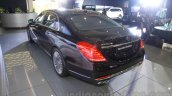 Mercedes-Maybach S600 rear quarters India launch