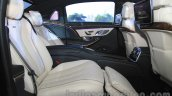 Mercedes-Maybach S600 rear seats India launch