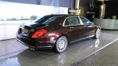 Mercedes-Maybach S600 rear three quarter India launch