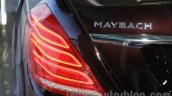 Mercedes-Maybach S600 taillight India launch