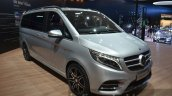 Mercedes V-Class AMG Line front three quarter at IAA 2015
