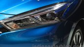Nissan Lannia headlight at the 2015 Chengdu Motor Show