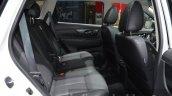 Nissan Navara NP300 rear seats legroom at IAA 2015