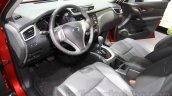 Nissan X-Trail interior at the 2015 Chengdu Motor Show