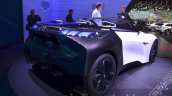 Peugeot Fractal Concept rear three quarters right at IAA 2015