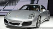 Porsche 911 Carrera S facelift (991.2) front quarter at the IAA 2015