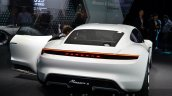 Porsche Mission E rear quarter at the IAA 2015