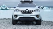 Renault Alaskan pick-up truck front unveiled