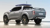 Renault Alaskan pick-up truck rear three quarter unveiled