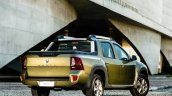 Renault Duster Oroch (Duster pick-up) rear three quarter launched in Brazil