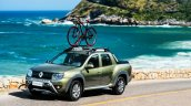 Renault Duster Oroch (Duster pick-up) with bicycle mount launched in Brazil