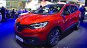 Renault Kadjar front three quarter left at IAA 2015