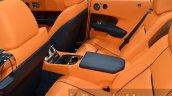 Rolls Royce Dawn rear seats at the 2015 IAA
