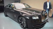 Rolls Royce Wraith Inspired By Music front three quarter right at IAA 2015