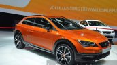 Seat Leon Cross Sport front three quarters at IAA 2015