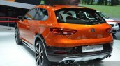 Seat Leon Cross Sport rear three quarter left at IAA 2015
