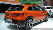 Seat Leon Cross Sport rear three quarter right at IAA 2015