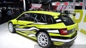 Skoda Fabia R5 Combi alloy wheels at IAA 2015