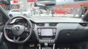 Skoda Octavia RS 230 dashboard at IAA 2015