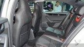 Skoda Octavia RS 230 rear seats legroom at IAA 2015