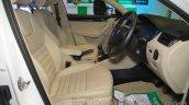 Skoda Octavia front seats Nepal Auto Show 2015