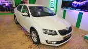 Skoda Octavia front three quarter right Nepal Auto Show 2015