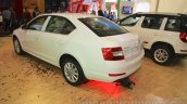 Skoda Octavia rear three quarter left Nepal Auto Show 2015