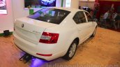 Skoda Octavia rear three quarter right Nepal Auto Show 2015