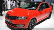 Skoda Rapid Monte Carlo front three quarter left at IAA 2015