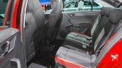 Skoda Rapid Monte Carlo rear seats at IAA 2015