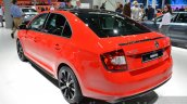 Skoda Rapid Monte Carlo rear three quarter left at IAA 2015