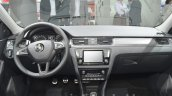 Skoda Rapid Spaceback Scoutline dashboard at IAA 2015