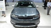 Skoda Rapid Spaceback Scoutline front at IAA 2015
