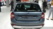 Skoda Rapid Spaceback Scoutline rear at IAA 2015
