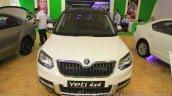 Skoda Yeti front at Nepal Auto Show 2015