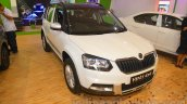 Skoda Yeti front three quarter right at Nepal Auto Show 2015