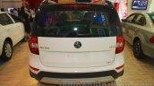 Skoda Yeti rear at Nepal Auto Show 2015